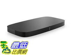 [107美國直購] 揚聲器 Sonos PLAYBASE Soundbar for Home Theater and Streaming Music (Black)