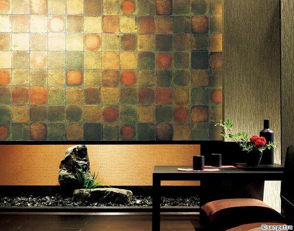 高品質和風金色壁紙SGA-181