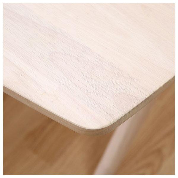 ◎(OUTLET)實木餐桌 RELAX 160 WW 橡膠木 福利品 NITORI宜得利家居 3
