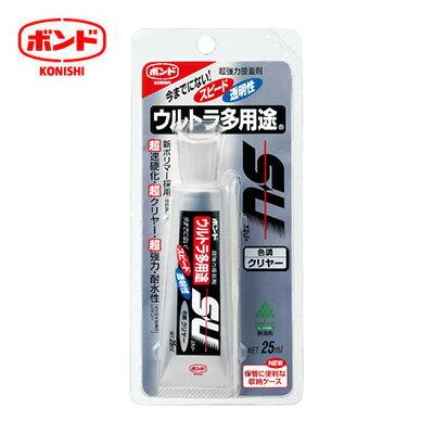 KONISHI日本SUCLEAR04592多用途萬用透明接著劑25ml支