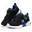 Shoestw【97842LBBLM】SKECHERS TECHTRONIX 中童鞋 運動鞋 慢跑鞋 記憶鞋墊 黑藍綠 黏帶 1