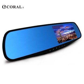 【CORAL】F1全新特仕機種後視鏡型行車記錄器(單鏡頭、不含SD卡)