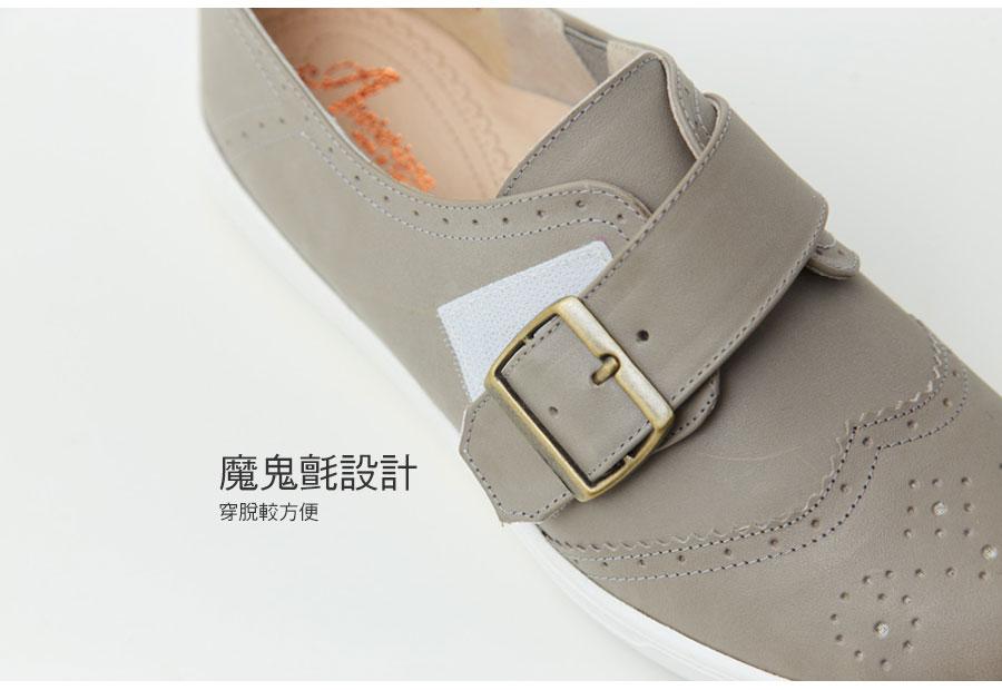 全新底台牛皮氣墊牛津休閒鞋【QC139731480】AppleNana蘋果奈奈 5