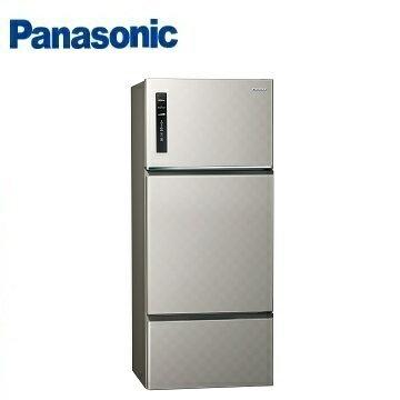 Panasonic國際牌NR-C489TV三門變頻冰箱(481L)(銀河灰)※熱線:07-7428010