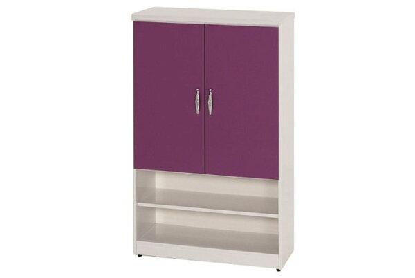【石川家居】873-10(紫白色)鞋櫃(CT-310)#訂製預購款式#環保塑鋼P無毒防霉易清潔