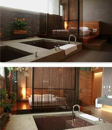 【台中】日光溫泉會館-120分鐘,雙人湯屋(有床+湯池)