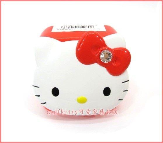 家用【asdfkitty】KITTY紅鑽復古糖果罐造型置物盒-放戒指.糖果.飾品當禮物包裝盒-日本版正版