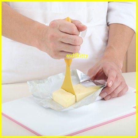 廚房【asdfkitty】貝印Broad Beans切奶油刀-好施力-冷凍奶油也可輕易切開-日本正版商品
