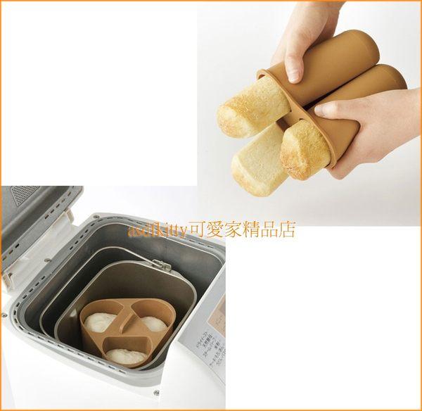 asdfkitty可愛家~賠錢  貝印長條麵包矽膠模型  熱狗麵包模 一般烤箱跟製麵包機
