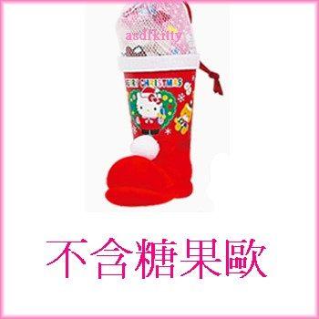 家用【asdfkitty】KITTY迷你耶誕/聖誕空靴-可當聖誕樹吊飾-還可裝小禮物-日本版正版