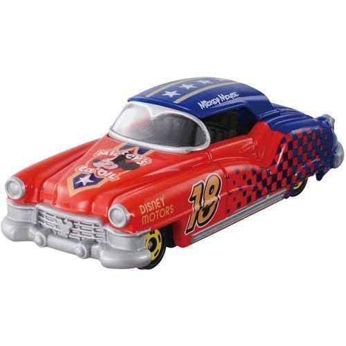個人用品【asdfkitty】迪士尼小汽車DM-16 夢幻米奇明星賽車TAKARA TOMY-正版