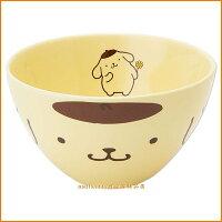 布丁狗周邊商品推薦到廚房【asdfkitty】布丁狗美濃燒陶瓷碗/飯碗/點心碗-日本製