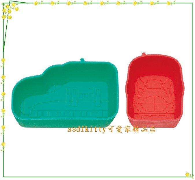 asdfkitty可愛家☆鐵道王國矽膠便當菜隔盒-可做一口酥.手工皂.巧克力...日本正版商品