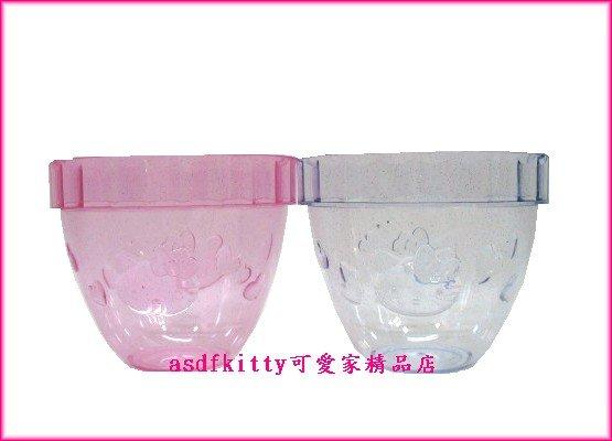 廚房【asdfkitty可愛家】KITTY冰淇淋杯2入-可當水杯.花器或零食杯