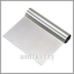 廚房【asdfkitty可愛家】貝印KAI不鏽鋼刮板/刮刀/切麵刀/工作板-日本製