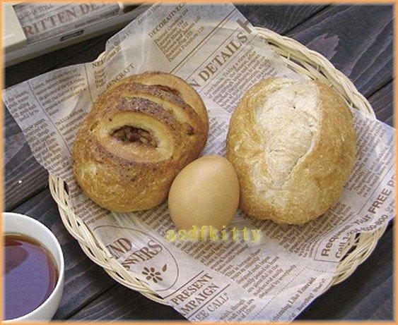 廚房【asdfkitty】貝印防水耐油英文報紙-包裝麵包三明治蛋糕餅乾-寫部落格-日本製