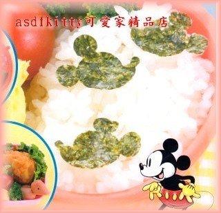 廚房【asdfkitty可愛家】米奇側面 海苔打洞器-便當-兒童餐-野餐-裝飾好幫手