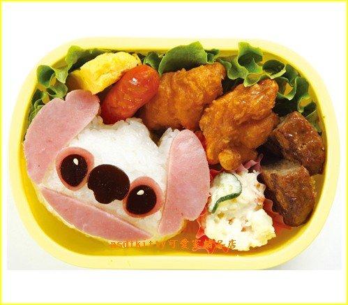 廚房【asdfkitty】星際寶貝史迪奇立體臉型飯糰模-鳳梨酥-月餅-綠豆膏都可用-日本製
