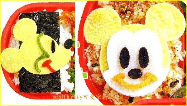 廚房【asdfkitty可愛家】米奇起司壓模-還可壓蛋皮-火腿-做餅乾歐*日本製*