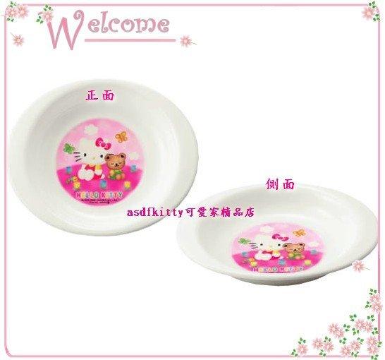 嬰童用品【asdfkitty】KITTY兒童學習餐盤-有深度-小熊版-可微波-日本製安心素材