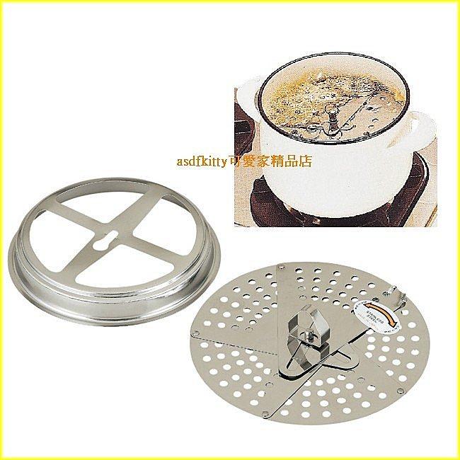 廚房【asdfkitty】貝印多功能不鏽鋼蒸盤/落蓋/滴油盤-日本製