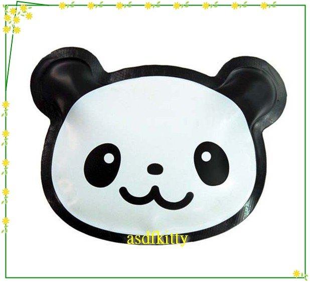 asdfkitty可愛家~ msa熊貓臉型保冷劑~超薄型~放便當盒或三明治盒~
