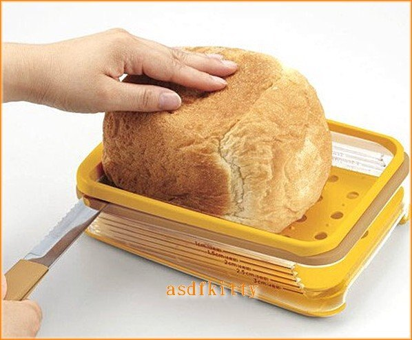 asdfkitty可愛家☆貝印橫切吐司切割器+麵包刀-軟吐司也不怕.最後一片超好切-日本製
