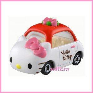 個人用品【asdfkitty】KITTY 多美夢幻小汽車-TOMY Dream TOMICA TM 152日本正版