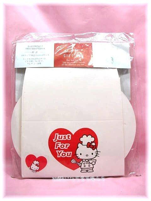asdfkitty可愛家☆kitty 蛋糕手提紙盒-內有塑膠底襯-可裝直徑15公分的蛋糕-日本製