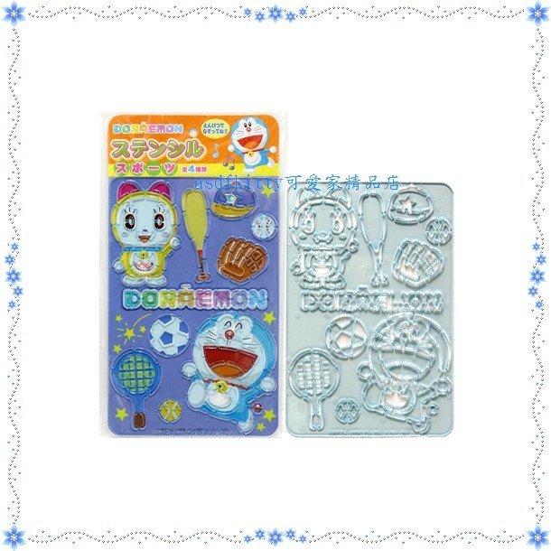 asdfkitty可愛家☆哆啦A夢-球類運動下標頁-畫板/繪圖板玩具-日本正版商品