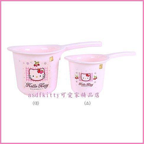 asdfkitty可愛家~KITTY大水瓢 水勺~亮草莓版~韓國製~這裡是大的 頁 ~