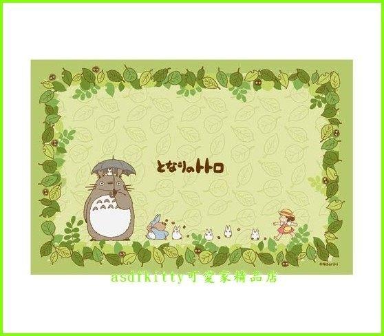 asdfkitty可愛家☆龍貓 野餐墊 跟小梅散步 90*60公分-日本版正版商品
