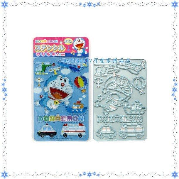 asdfkitty可愛家☆哆啦A夢-交通工具下標頁-畫板/繪圖板玩具-日本正版商品