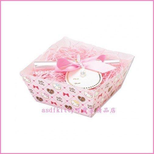 asdfkitty可愛家☆kitty巧克力包裝盒/禮物盒/可裝餅乾小蛋糕-日本正版-日本製