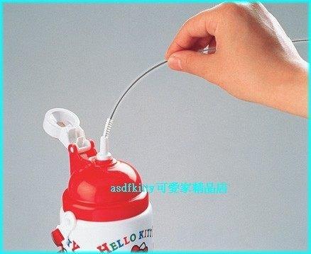 asdfkitty可愛家☆日本skater-吸管水壺專用吸管清潔刷子-日本媽媽最愛用-日本製