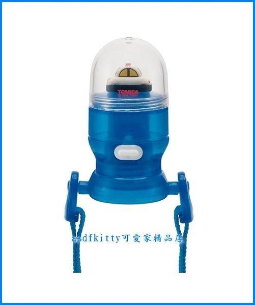 asdfkitty可愛家☆TOMICA小汽車寶特瓶用-直飲式瓶蓋-直接喝~免洗吸管歐~附水壺背帶-日本正版