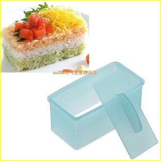 廚房【asdfkitty】日本AKEBONO押壽司模型/箱壽司壓模-日本製