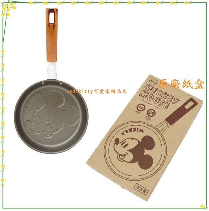 asdfkitty可愛家☆迪士尼 米奇 鬆餅鍋-煎蛋鍋-煎雞蛋糕-還可煎造型飯糰歐-日本製