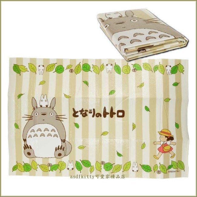 asdfkitty可愛家☆龍貓 野餐墊 咖啡色 90*60公分 薄泡棉鋁箔底材質 日本版正版商品