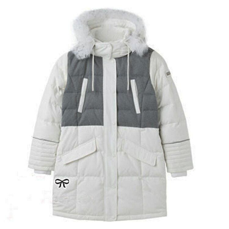 【葉子小舖】韓劇美女的誕生韓藝瑟莎拉灰白款羽絨外套♥♥♥♥♥♥♥