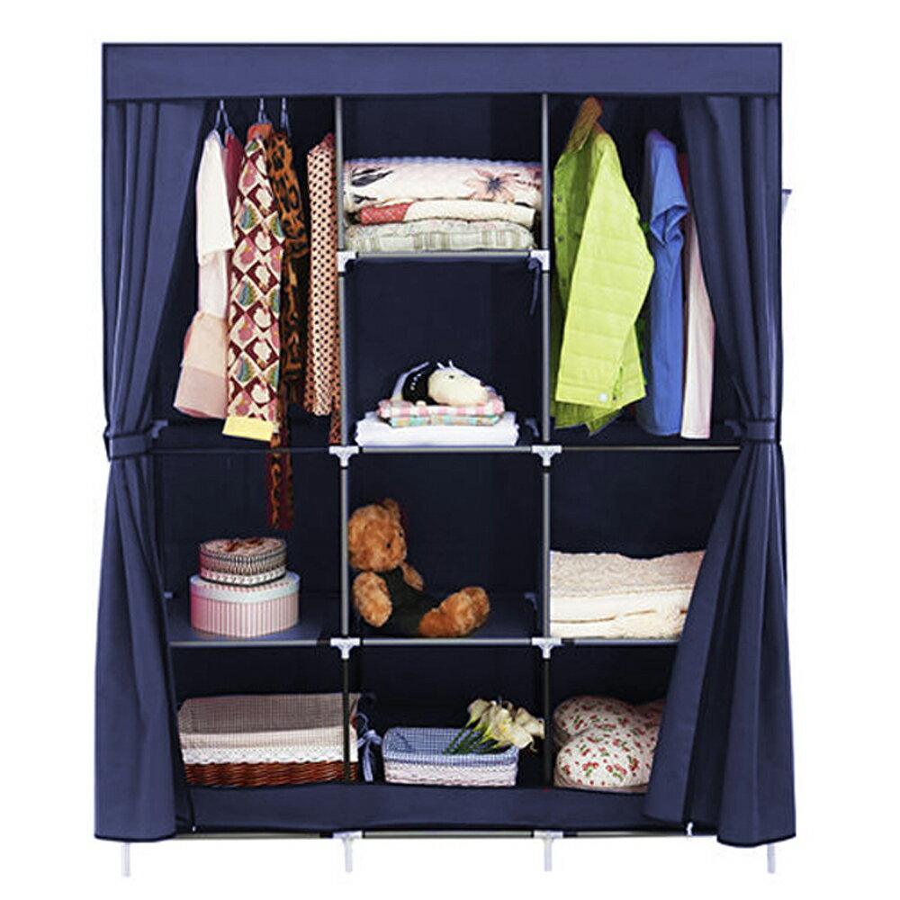衣櫃 組合衣櫥 衣物收納│超大加寬雙門防塵衣櫃