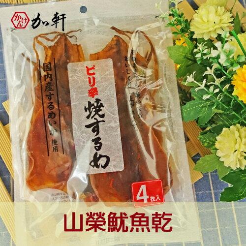 《加軒》 日本山榮魷魚乾海味零食