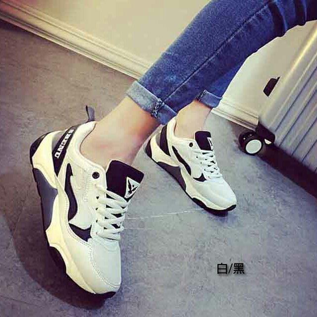 慢跑鞋 ^~與你 ^~韓國品牌SBENU 超百搭 綁帶 鞋^(158~2^)