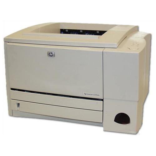 HP Laserjet 2200dn Monochrome Laser Printer - Duplexer - Network