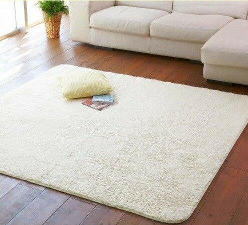 幸福家居商城:外銷日本等級千趣會190*190CM高級純色防滑超柔絲毛地毯(客製訂作款))