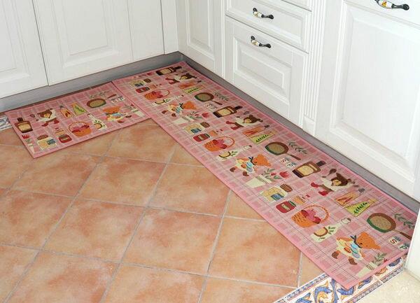 2014 繽紛療癒系 出口日本等級 45*240 CM 可愛小熊卡通地墊 吸水防滑地墊 廚房墊 門墊 玄關墊 地毯