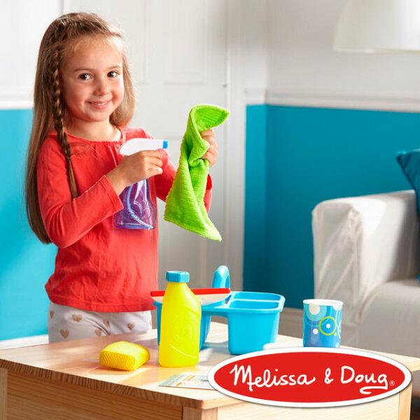 美國瑪莉莎Melissa&Doug角色扮演-家事達人清潔玩具組【寶貝樂園】