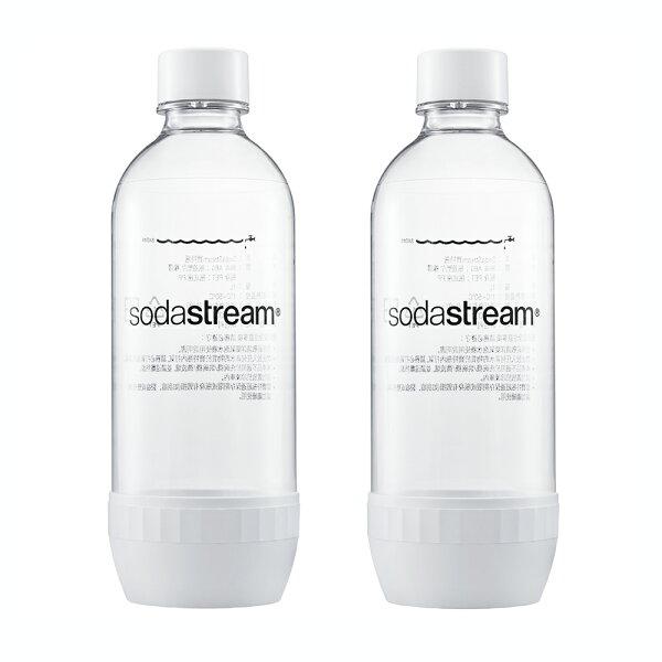 Sodastream寶特瓶1L2入(白)