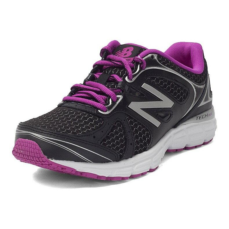 《限時特賣↘6折免運》NEW BALANCE 560 女鞋 慢跑 輕量 穩定 黑 紫【運動世界】 W560RB6