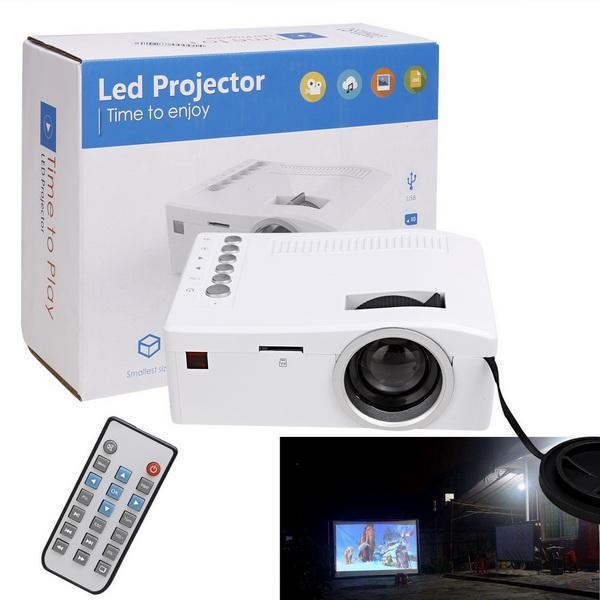 Micro Mini LED LCD Projector Portable Home Cinema Theater Multimedia 1